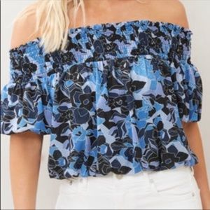 FREE PEOPLE off shoulder top NWT